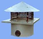 Осевые крышные вентиляторы ВКО