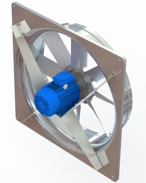 Реверсивные вентиляторы для сушильных камер ADW-S в квадратном корпусе
