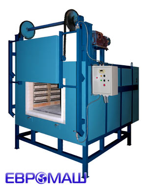 Камерная промышленная электропечь СНОЛ 500-12