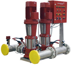 электрическая схема водяного насоса