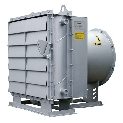 ЕВРОМАШ. Отопительное оборудование. Агрегаты воздушно-отопительные АО 2
