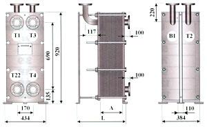 Уплотнения теплообменника Alfa Laval T8-BFM Самара