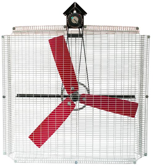 ЕВРОМАШ. Вентиляторы для охлаждения животных AF-130K Moo-Moo