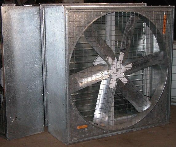 ЕВРОМАШ. Вентилятор осевой клиноременный ВО-12