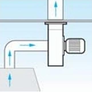 Установка радиальных вентиляторов Vorticent C для поддержания давления в системе
