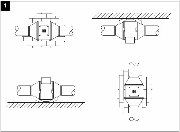 Канальный вентилятор Vortice LINEO