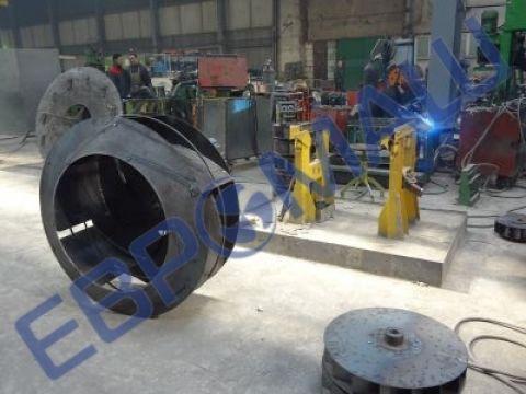Вентиляционный завод ЕВРОМАШ изготавливает запасные части к вентиляторам