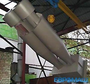 ЕВРОМАШ. Пылеулавливающий агрегат ЦИКЛОН