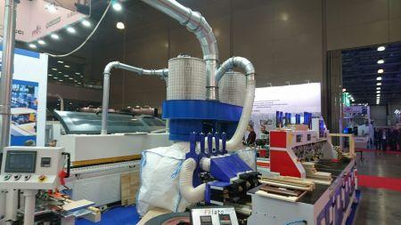 Пылеуловитель ПФЦ-8000 на выставке WOODEX 2019