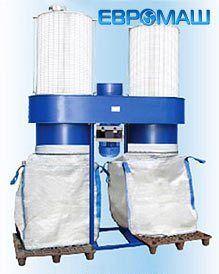 ЕВРОМАШ. Пылеулавливающий агрегат ПФЦ-8000