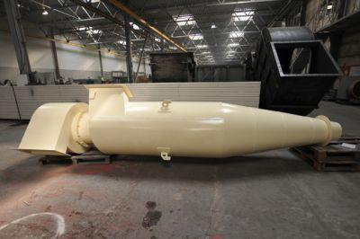 Пылеулавливающий агрегат ЦИКЛОН ЦН-15 с улиткой без бункера на производственном складе ЕВРОМАШ