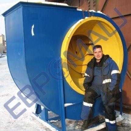 ЕВРОМАШ. Радиальный вентилятор