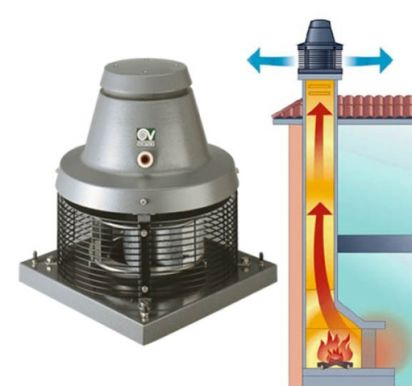 Вентилятор для дымохода купить курсы по чистки дымоходов