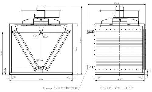 Аппарат воздушного охлаждения это теплообменник Паяный теплообменник Alfa Laval AC30EQ Ростов-на-Дону